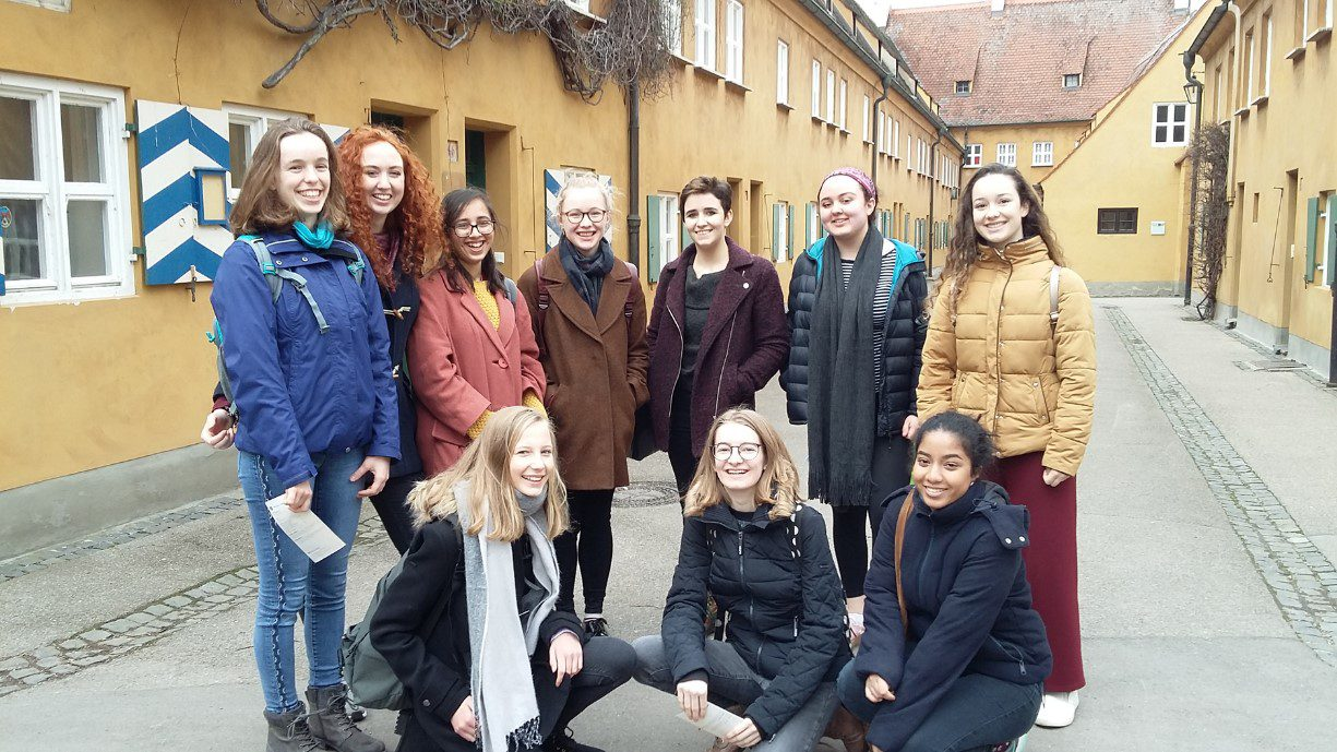 German exchange and work experience in Year 12