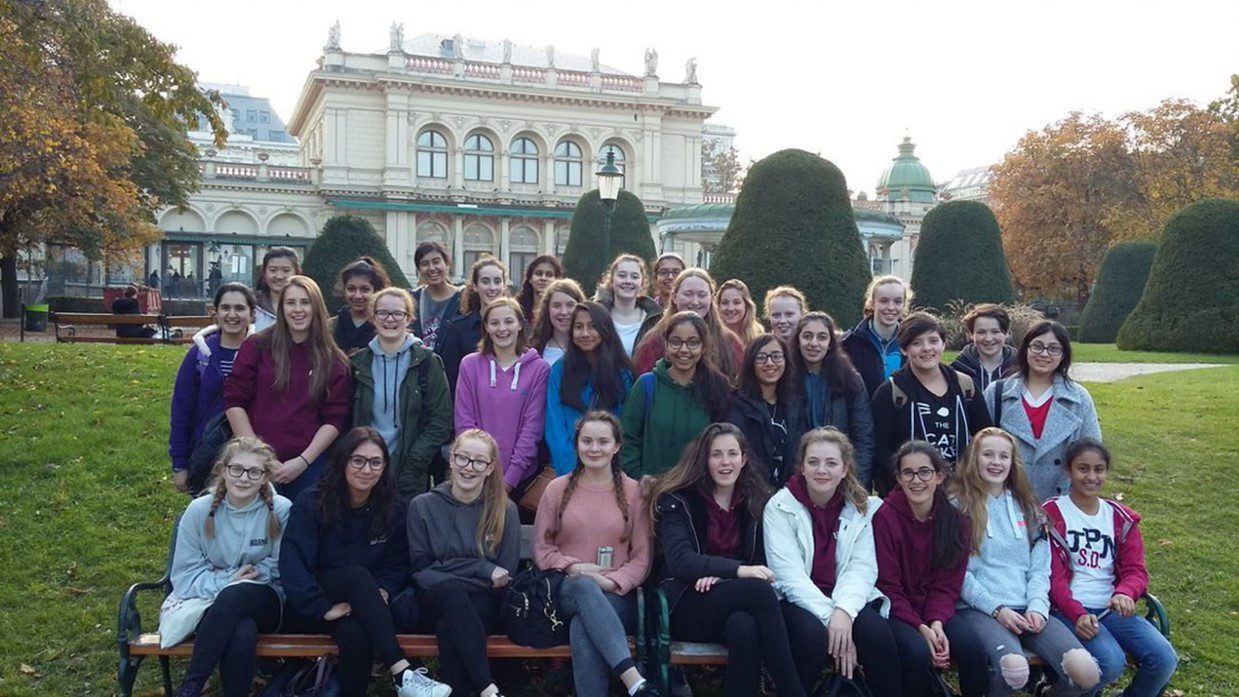 Vienna- German and history study visit